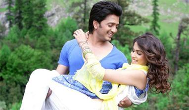 Riteish-Genelia's most special Valentine's Day! ~ Punjabi ...
