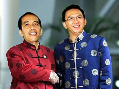 Gambar Lucu Jokowi dan Ahok