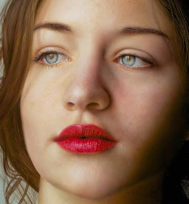 Imagenes de Rostros de Lindas Chicas Italianas Hiperrealismo