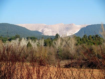 El runam salí del Cogulló des de la Sèquia de Manresa, al bell mig del Pla de Bages.