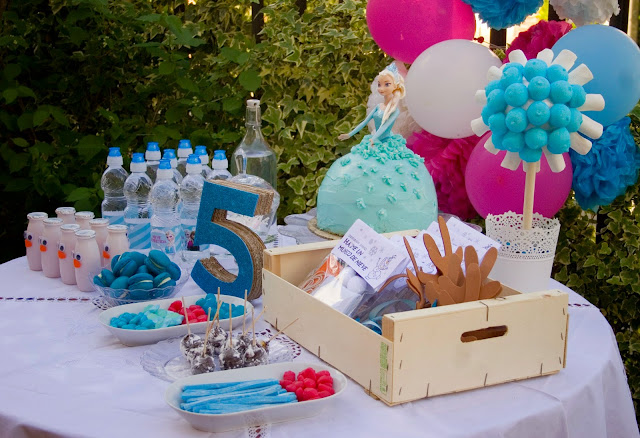 Diariodeco14: Candy bar Frozen por el cumple de la princesa1