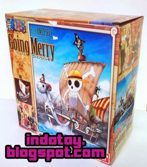 Jual One Piece Going Merry Plactic Model