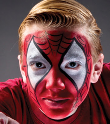 Halloween_Face_Painting_Airbrush_Spiderman