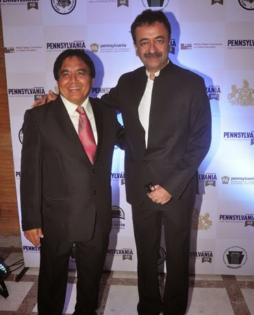 Rajkumar Hirani at 'PK's Pennsylvania meet