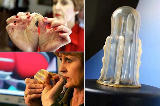 Anti-Rape Female Condom That Will Give The Male Genitals In Extreme Pain!