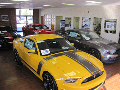 2013 Boss 302, 2013 Shelby GT500, 2013 Roush RS3 & 2011 Shelby GT500