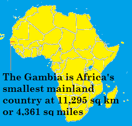 The Gambia Capital city is Banjul