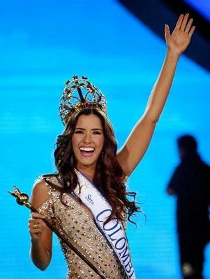 Miss Senorita Colombia 2013 winner Paulina Vega Dieppa Atlantico