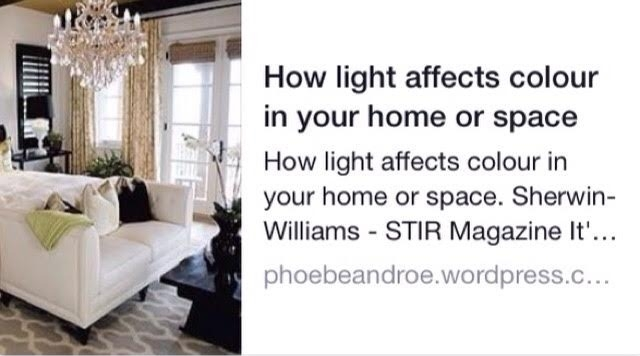 How Light affects Colour