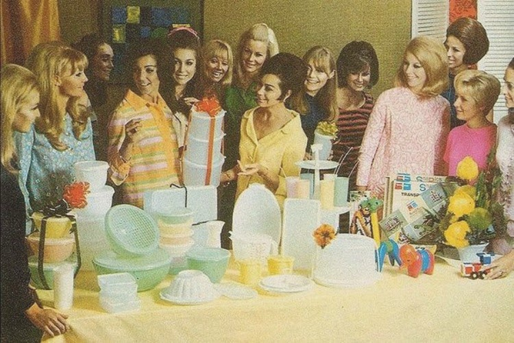 1960's Tupperware Party