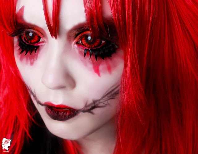 Blood & Gore Halloween Sclera Lenses: Full Eye Horrific Contact Lenses