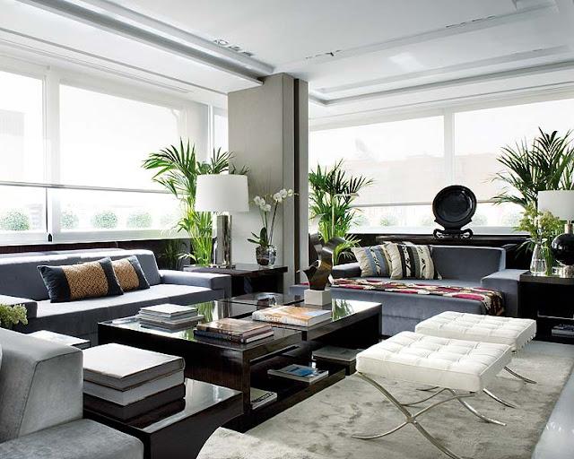 Noir blanc un style - Nuevo estilo salones ...