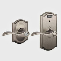 Schlage Keyed Door Entry Lever with Built-In Camelot Alarm for $39 SHIPPED!! WOW!!