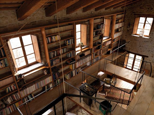 casa rural en italia biblioteca de diseño