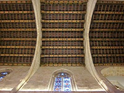 Ceiling of Santa Agata chapel