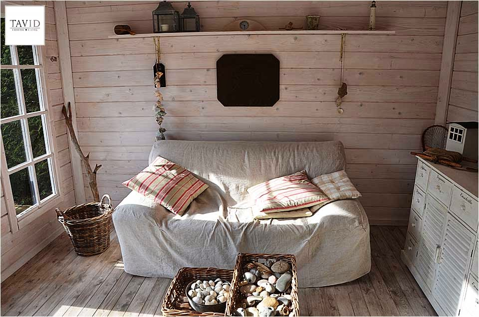 schwedisches gartenhaus maritime impressionen von innen maritimer wohnen. Black Bedroom Furniture Sets. Home Design Ideas