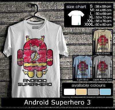 kaos distro android superhero 3
