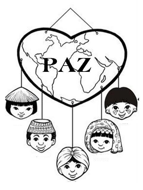Imagenes y fotos: Dibujos Dia de la Paz para Pintar, parte 3