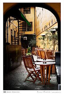 Копенгаген, уличное кафе