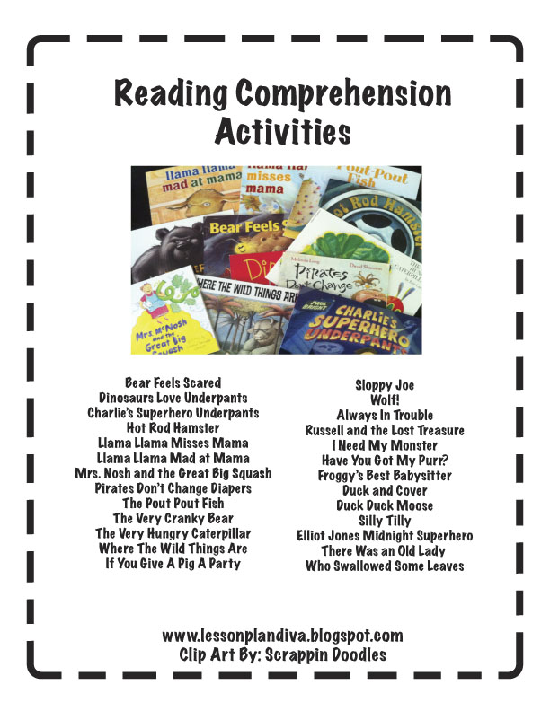 reading comprehension assignments