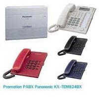 Jual PABX Panasonic, Mesin Fax Panasonic, Telepon Panasonic