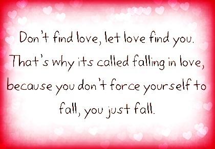 Find love find life