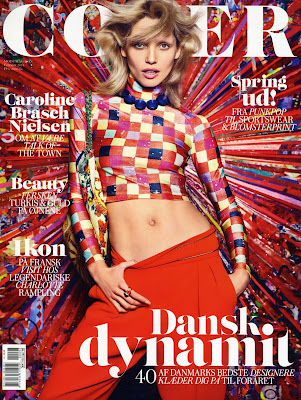 Hana Jirickova HQ Pictures Cover Magzine Photoshoot February 2014