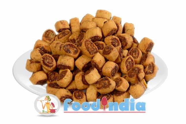 Bhakarwadi spicy indian snack recipe indian food recipe tips bhakarwadi spicy indian snack recipe forumfinder Gallery