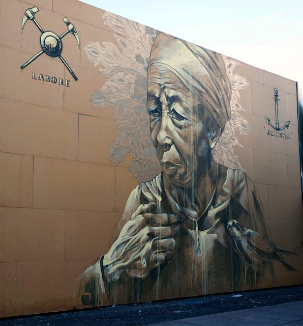 Street Art By Faith47 In Montreal, Canada. 5