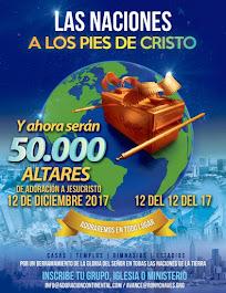 50,000 ALTARES DE ADORACION