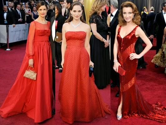 gaun pesta modern merah