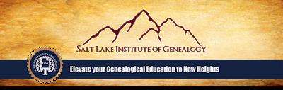 SLIG at Utah Genealogical Association