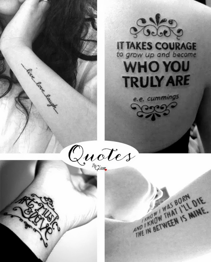 Tattoo Quotes For Men About Success
