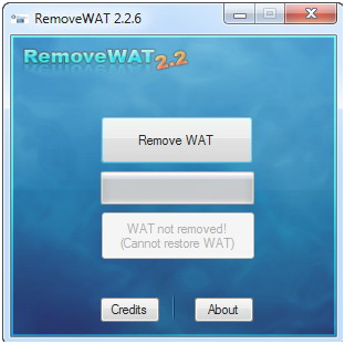 RemoveWAT 2.2.6: Mengatasi Pesan Windows Is Not Genuine Di Windows 7