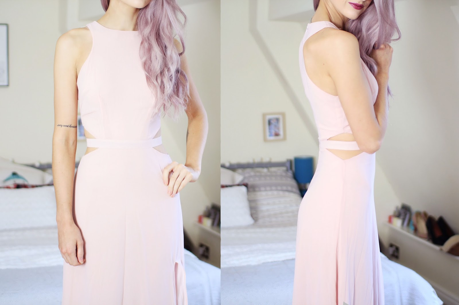 missguided pascaline dress