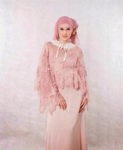kebaya muslim untuk wanita gemuk terbaru 2017/2018
