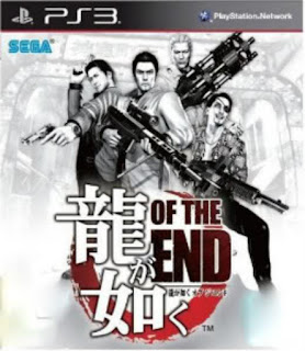 Ryu ga Gotoku of the End (Yakuza 4 with zombi)