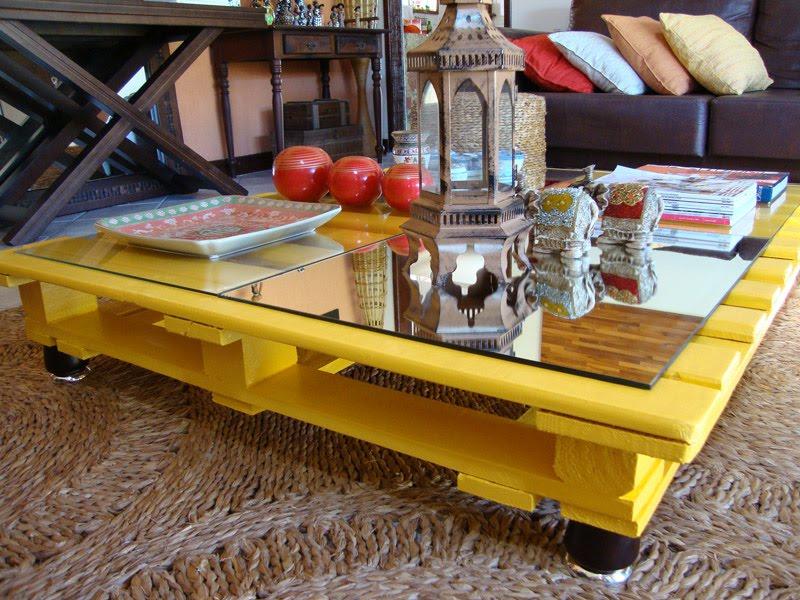 Blog de decorar 15 mesas de centro de ba bar feitas de for Mesa de pallet