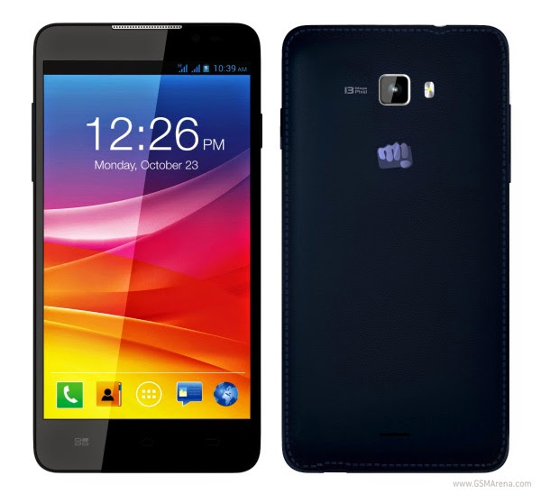 Micromax Canvas Nitro A310 Blue.