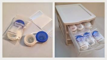How to Organize Circle Contact Lenses?