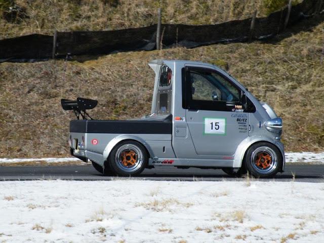 Daihatsu Midget II, K100P, ciekawe auta używane do wyścigów, szalone samochody, japońska motoryzacja