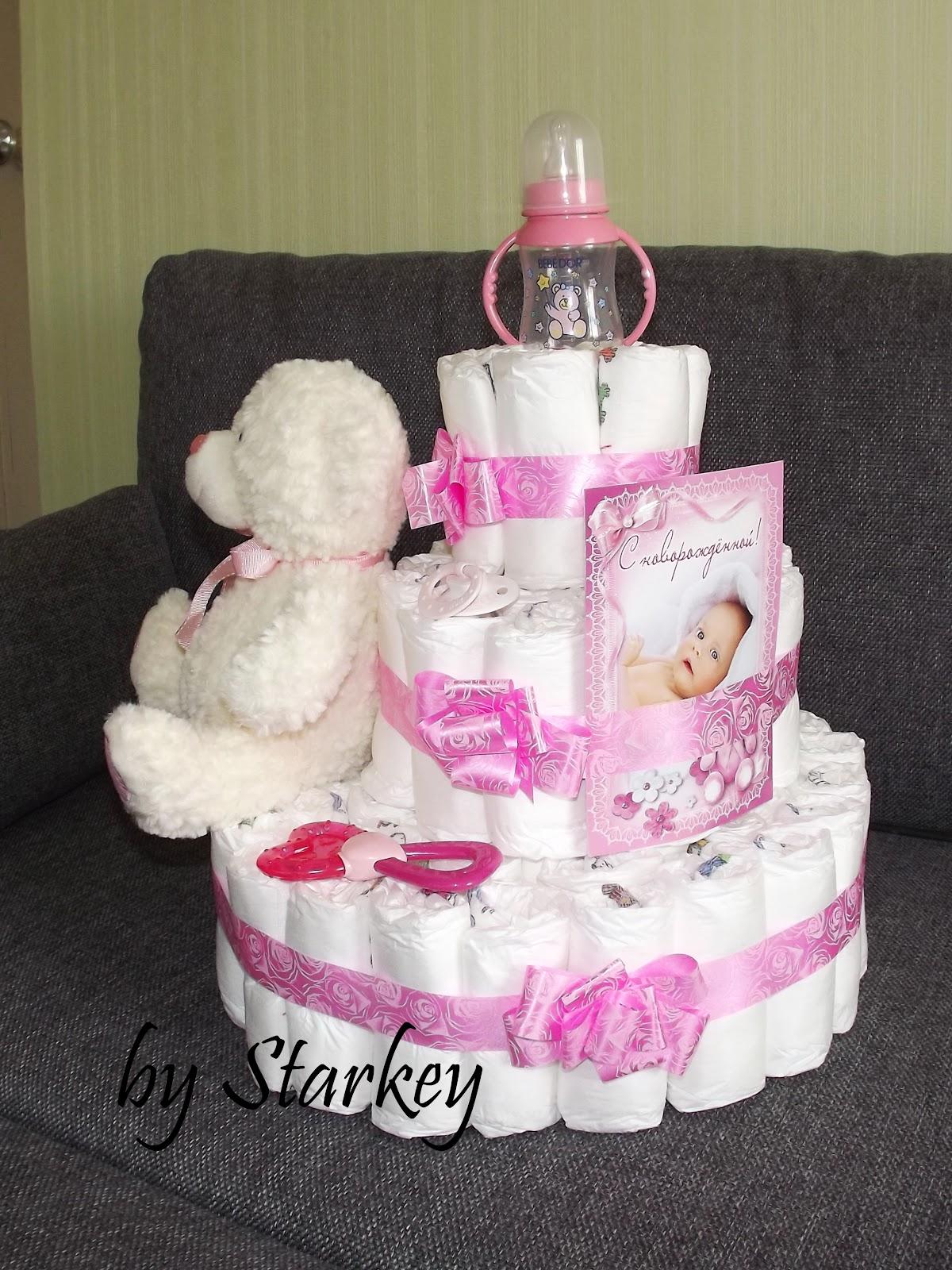 Подарок на рождение малыша: красивые идеи Домашний способ 3