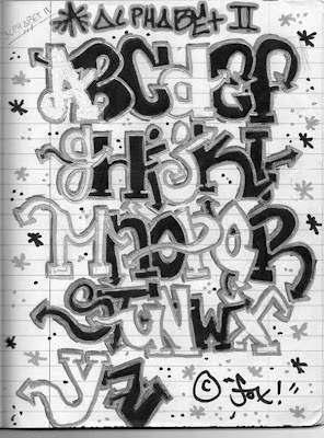 Graffiti Letters A Z To Draw