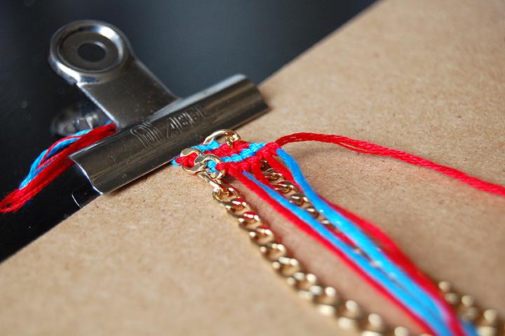 Blog cuisine diy bordeaux bonjour darling anne laure diy mon bracelet br silien - Longueur fil bracelet bresilien ...
