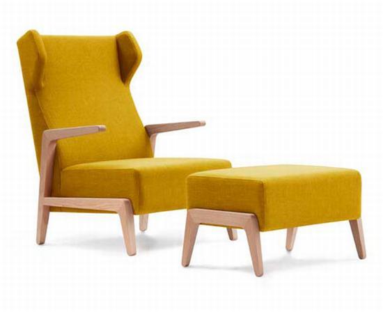 Boomerang Chill modern armchair design Interior Design and