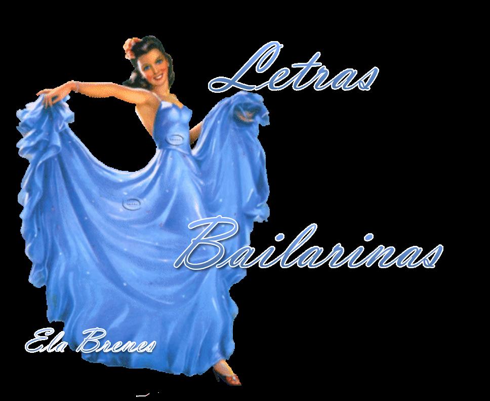 Letras bailarinas