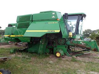 John Deere 9610 parts