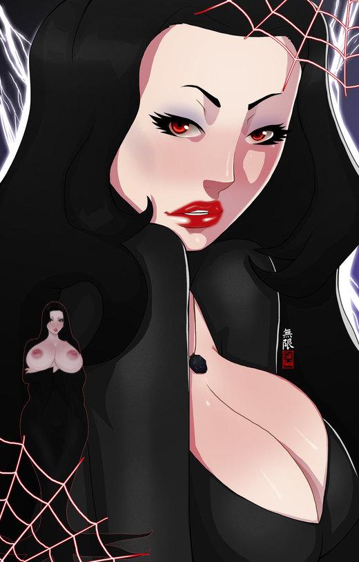 Morticia Addams por MugenIllustrations