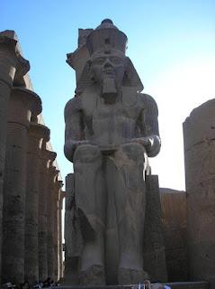Templo de Luxor. Egipto antiguo. Arquitectura egipcia. Templos Egipcios