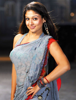 Nayanthara Hot Sexy Saree Latest Photos